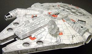 millenium falcon paper model