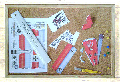 modelling board and kit