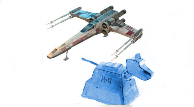 paper models sci fi